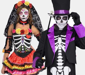 Tag Der Toten Kostume Und Zubehor Fur Damen Herren Und Kinder
