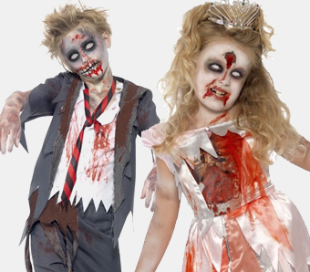 Halloween Zombie Kostüme Horrorklinikde