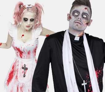 Zombiekostume Und Zombie Zubehor Fur Damen Herren Und Kinder